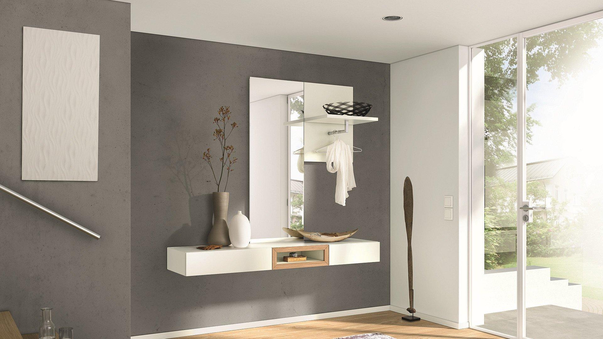Зеркало с полкой в прихожую: настенное, для коридора, фото.